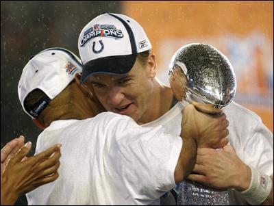 Colts Win Super Bowl 41
