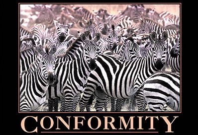 Conformity (from www.despair.com)
