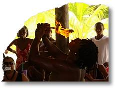 labadee fire eater