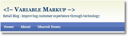 variable markup blog