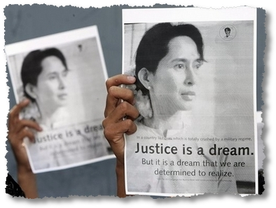 justice aung san suu kyi
