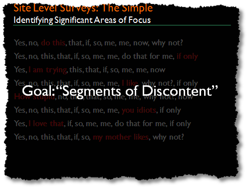 segments of discontent