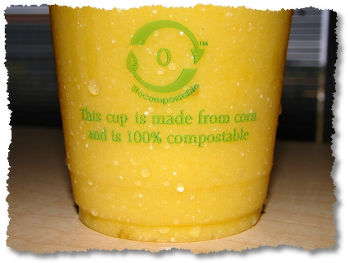 biocompostable cup - google