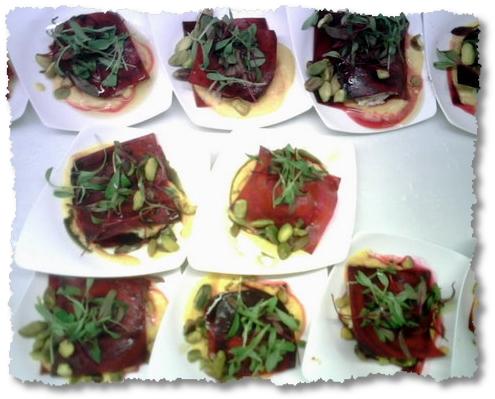 red beet ravioli-google