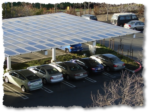 solary array car port-google