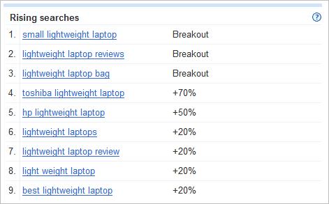 lightweight laptops rising terms
