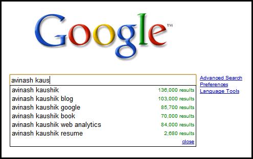googlecom avinash kaushik