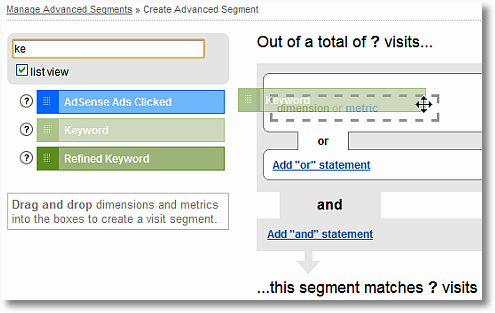 segmenting brand keywords