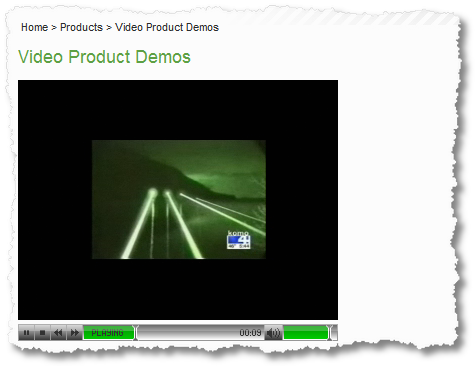 video product demos