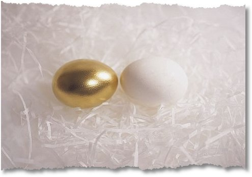 comparison golden egg with white egg1