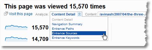 visitor source analysis