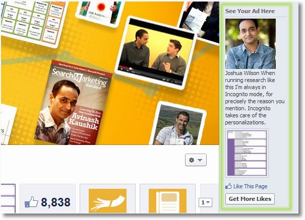 fan page ads