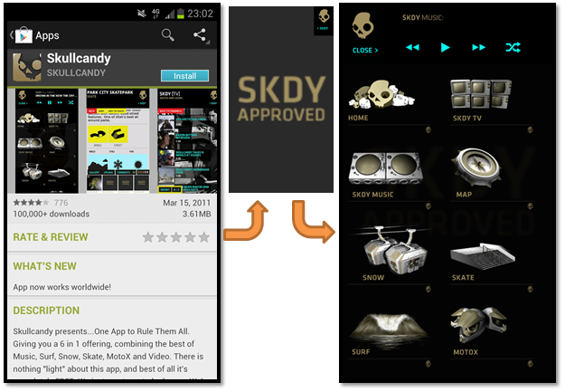 skullcandy mobile app