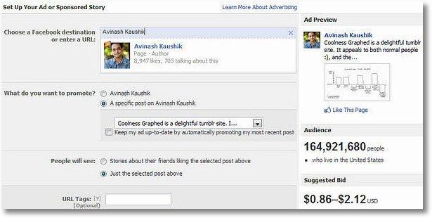sponsored sotry ad facebook