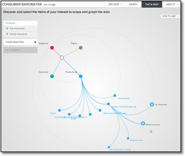 consumer barometer data map interface
