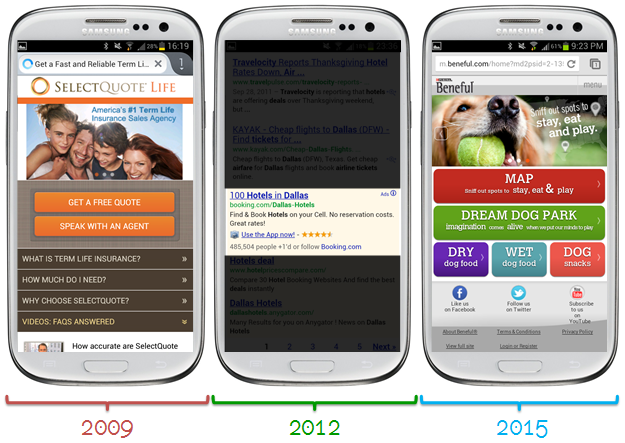 2009 2012 2015 mobile strategy