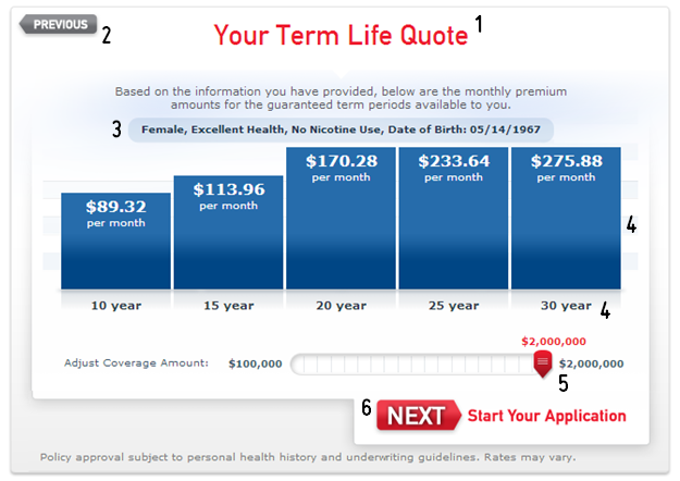 aaa term life insurance results
