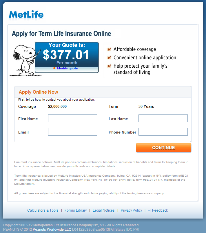 Metlife Quote Life Insurance Endearing Life Insurance Forms  Metlife Insurance Results Sm Genuine