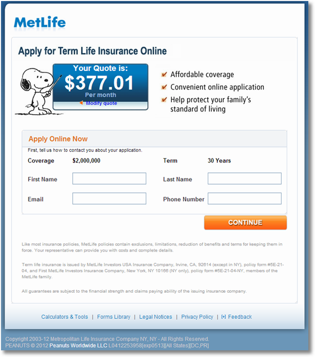 metlife insurance results sm