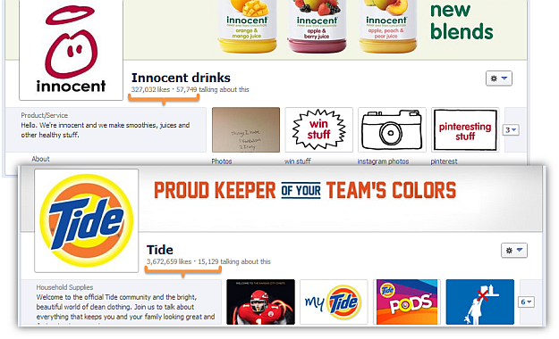 innocent drinks tide detergent facebook