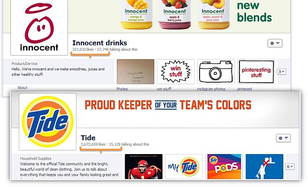 innocent drinks tide detergent facebook