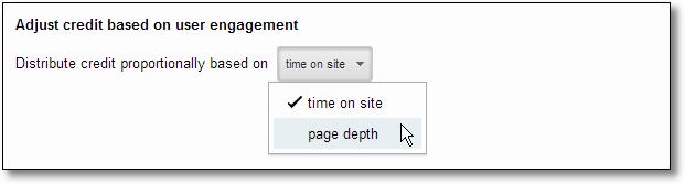 custom attribution model step three user engagement