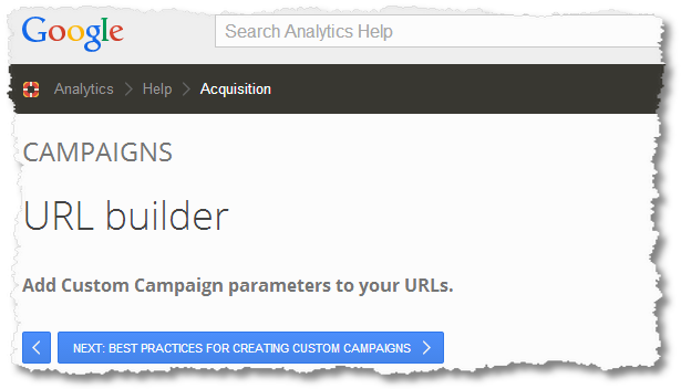 campaign tracking google analytics