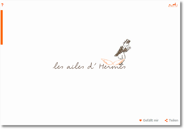hermes site loading page