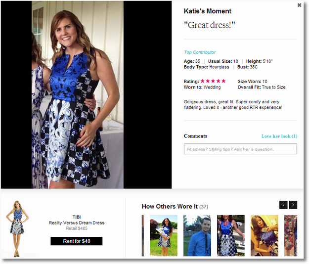 rent a runway recommendations katie
