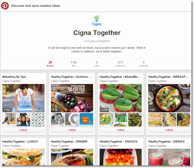 cigna pintrest