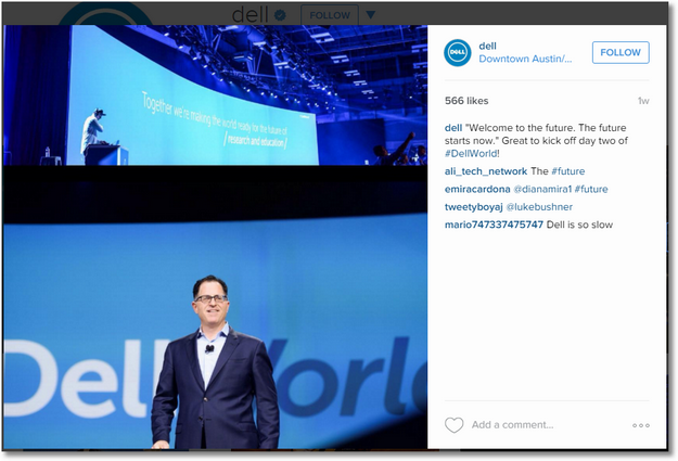 dell instagram