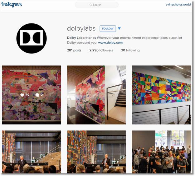 dolby instagram