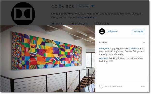 dolby instagram 2