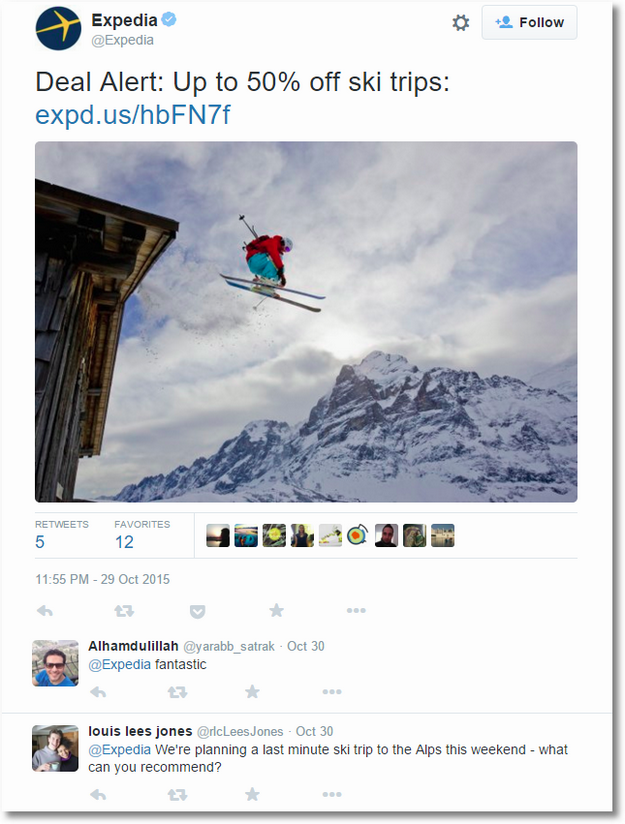 expedia twitter 3