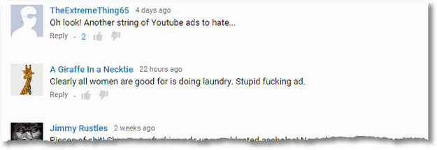 fabreeze youtube comments2