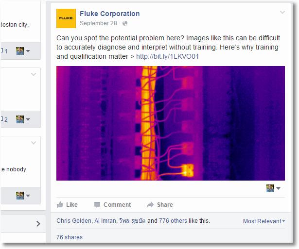 fluke facebook 3