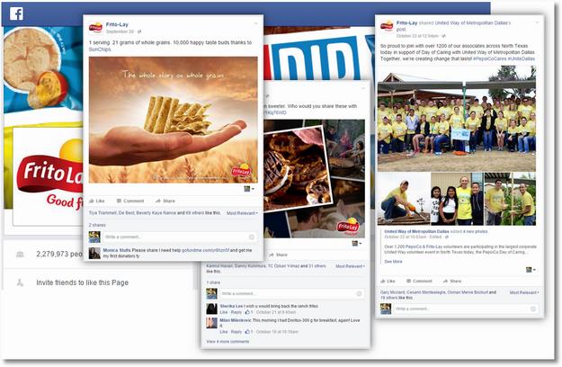 frito lay facebook