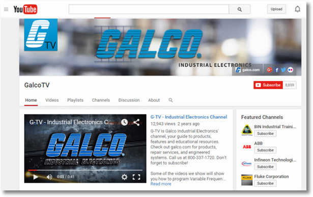 Galco TV YouTube