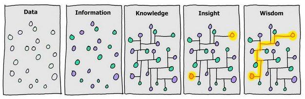 data shiznit knowledge insight wisdom