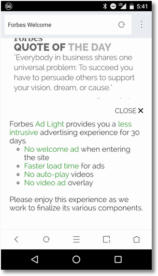 Forbes Ad-Light